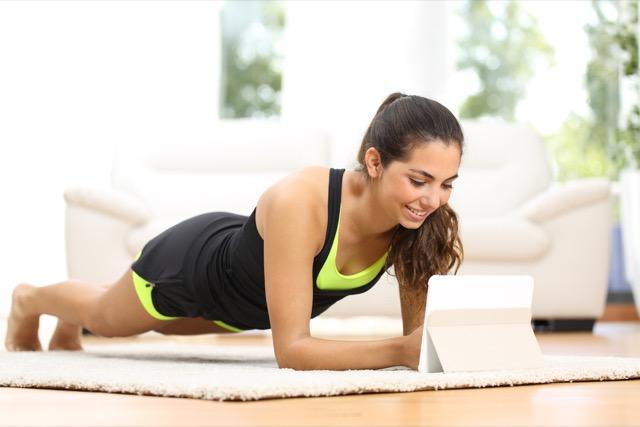 Преимущества онлайн тренировок